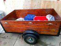 5ftx3ft camping/ gardening trailer