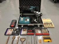 Makita 18v LXT ltd edt combo drill Makita 18v Hammer Drill & Accessories
