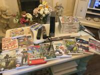 Wii console fitness board 19 games