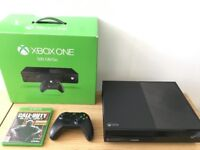 *BOXED* XBOX One 500GB with Original Controller & 4 Games (BO3, Rainbow Six Siege, Watchdogs)..