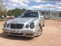 2000 Mercedes Benz E240 Automatic mot until Feb 2019 superb driving saloon