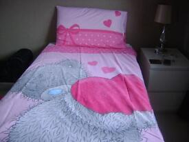 Me to You Bear Single Bed Set