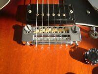 Gordon Smith Gypsy II electric guitar - England - Mid '80s - Gibson Double cut homage
