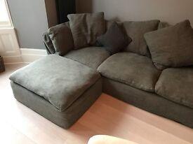 Designer Sofa - like new (1 year old)