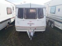 Elddis vogue 2 Berth caravan with awning ( light weight)