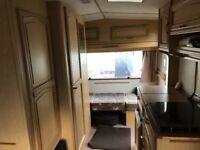 1980/90s Retro 4/5 berth caravan with awning