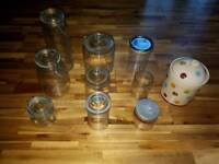 Collection of jars