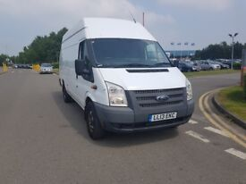 2013 FORD TRANSIT LONG WHEEL BASE HIGH ROOF JUMBO, FRESH MOT, EXCELLENT ENGINE AND GEARBOX. CHEAP