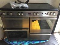 Stoves Range Cooker Oven Stainless Steel Kitchen Appliance Gas and Electric