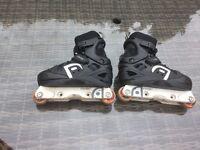 Anarchy Panic 2 Skate Part Roller Skates/ Blades. Adjustable size 2-5.