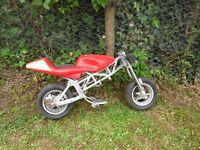Mini moto rolling frame