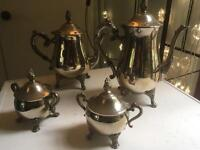 Vintage Silver plated tea and coffee set