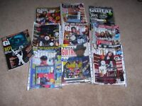 10 Issues of Total Guitar magazine including cover CD's