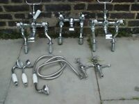 FREE DELIVERY Traditional Regent Bath Taps Chrome