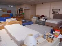 Various Bedframes/Beds/Mattresses/Cots THIS ITEM CAN BE VIEWED AT HOUSE OF HOPE CHARITY SHOP