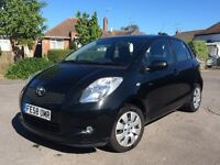 TOYOTA YARIS 5dr 1.4 DIESEL MANUAL, FULL TOYOTA SERVICE HISTORY