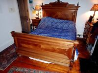 Beautiful Antique King Bed