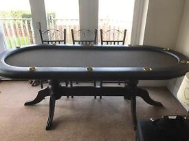 Poker/dining table