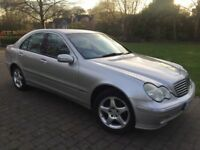 2004 Mercedes-Benz C Class 1.8 C180 Kompressor Avantgarde SE Automatic Full 12 months mot