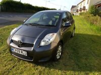 2009 Toyota Yaris 1.3 tr Grey 6 speed 81k miles full service history 12 monts mot. £30 tax