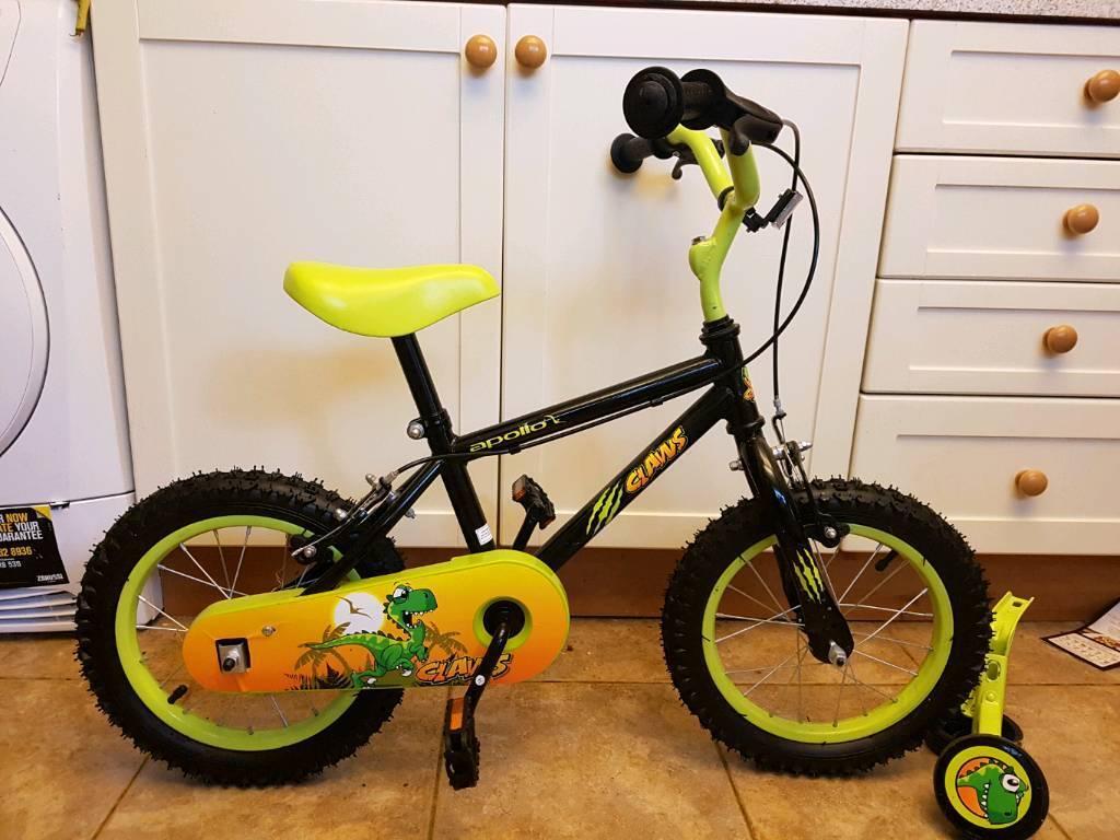 "Boys 14"" Apollo Claws bike"