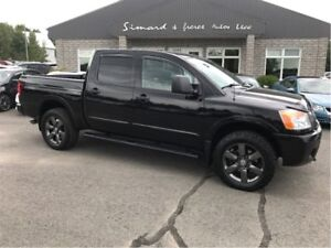 2012 Nissan Titan SV CREW CAB SPORT APPARENCE PACKAGE 4X4