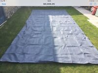 Ground sheet for awning or tent