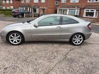 Mercedes C180, 1 previous owner, genuine 50k miles, FSH