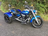 Yamaha XVS950 Midnight Star Trike