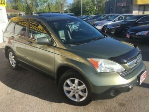 2007 Honda CR-V EX-L/AWD/LEATHER/ROOF/LOADED/ALLOYS