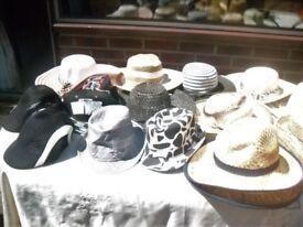 Summer hats, Ladies, Men's, Children and Baby's