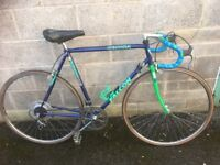 "Vintage falcon corsa racing bike 12 speed 24"" frame 27"" wheels"