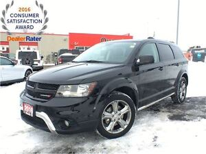 2016 Dodge Journey CROSSROAD**ALL WHEEL DRIVE**LEATHER**SUNROOF*