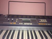 Light up Casio keyboard