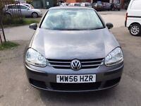 VW GOLF 1.9 TDI S DIESEL 5 DOORS HPI CLEAR, FULL HISTORY WITH 11 STAMPS