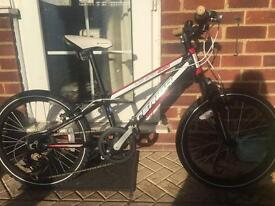 Boys 20 inch wheel Merida mountain bike