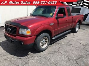 2009 Ford Ranger Sport, Extended Cab, Automatic, Tonneau Cover,