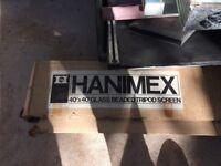 """Hanimex 40"""" x 40"""" Glass Beaded Tripod Screen. 40x40 1m x 1m approx."""