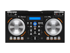 iDance XD3 DJ Mixer and Portable Sound System with Built in Radio and Bluetooth Conection