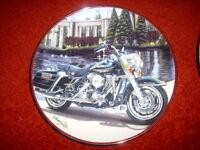 Franklin mint Harley davidson motorcycle plates