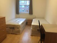 Spacious Twin Available all around london, all bills included
