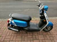 Retro moped scooter 50cc