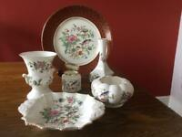 Ainsley Pottery Pembroke pattern all pieces perfect