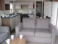 For sale new static caravan holiday home- front opening doors! Devon. Payment options available.