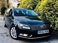 **62 PLATE+SATNAV** VOLKSWAGEN PASSAT 2.0 TDI HIGHLINE + FULL SERV HSTRY + 1 CO-OWNER + MINT CAR