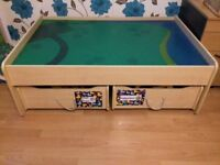 GLTC PLAY TABLE - with 2 full size storage drawers