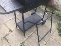 Deluxe double barbecue