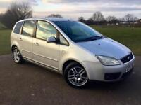 Ford Focus C-Max Zetec 2.0L 5Dr In Mint Condition! FULL FORD SERVICE HISTORY/1 Year MOT/HPI Clear