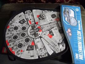 Star Wars Millenium Falcon LEGO Messenger Bag Carrying Case (Large)