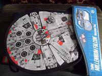 Star Wars Millenium Falcon LEGO Messenger Bag Carrying Case (Large)